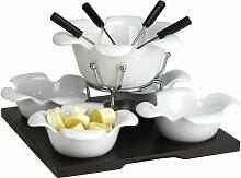 Fondue-Set Spezialitäten aus Keramik ClearAmbient