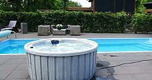 Fonteyn Dream Eclipse Outdoor Whirlpool Spa/Balboa