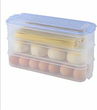 Food Storage Box 3 Layer Seafood Storage Box