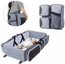 FOONEE Baby-Reisebett, Tasche Reisekorbwiege Für