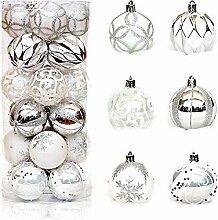 FOONEE Christbaumkugel-Ornamente, 60 mm,