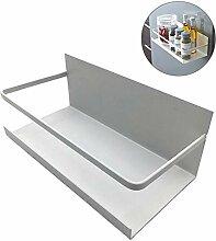 FOONEE Gewürzregal, Magnet Kühlschrank Regal,