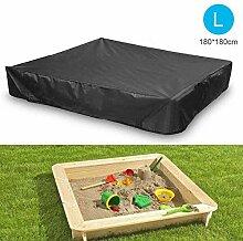 FOONEE Sandkasten-Abdeckung, Quadratische