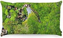 FOONKA Buchweizen Kissen 50x30 cm, Kopfkissen