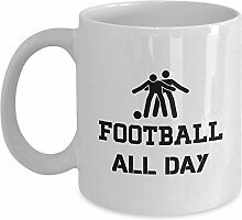 Football All Day Coffee Mug Cup 11oz