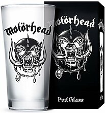 for-collectors-only Motörhead Glas Warpig Logo