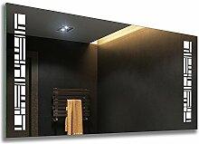 FORAM Design Badspiegel mit LED Beleuchtung