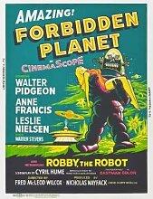 Forbidden Planet – Film Poster Plakat Drucken