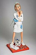 Forchino The Nurse Mini, Resin, Multi 9 x 9 x 24 cm