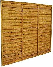Forest 5Gartenhaus Zaun Panel, natur, 1.52m