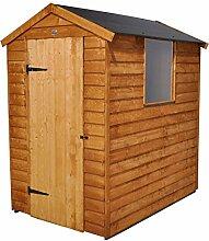 Forest 6x 4ft Apex Gartenhaus Eingetaucht Easy Fit Dach