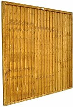 Forest fb66pk10hd 1,83 m Close Board Panel – Herbst Gold (10 Stück)