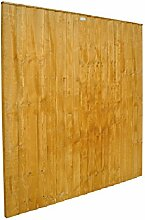 Forest ff66pk10hd 183x 4,7x 183cm featheredge Panel (1.83m hoch)–Pack von 10–Herbst Gold (10-)