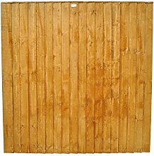 Forest ff66pk9hd 183 x 4,7 x 183 cm featheredge Panel (1.83 m hoch) – 9 Stück – Herbst Gold (9-)