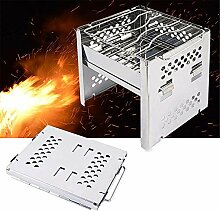 Forest leopard BBQ-Grill, tragbarer Barbecue-Grill