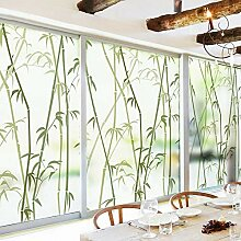 Forever Bambus Dekor-fensterfolie, Ohne klebstoff