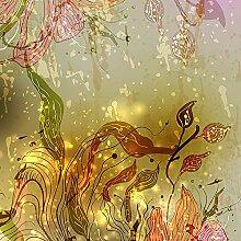 Forever Blumen Blickdicht Fensterfolie