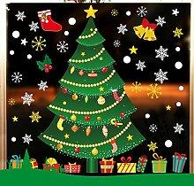 Forever Weihnachten Milchglasfolie zur Dekoration,
