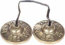 Forfar Tingsha tibetische Glocke Meditation
