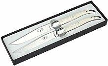 Forge de Laguiole - 2er Set Steakmesser - Griff