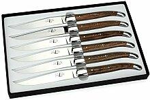Forge de Laguiole - 6er Set Steakmesser - Griff