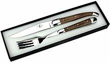 Forge de Laguiole - Set ein Steakmesser und eine