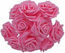FORHOME 10 Stücke Große Schaum Blumen