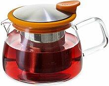 Forlife Glas-Teekanne mit Teesieb, 400 ml 14