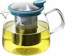 Forlife Glas-Teekanne mit Teesieb, 680 ml 24