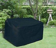 Forma Schutzhülle für 3er Gartenbank, schwarz