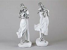 formano 2er Set Dekofiguren, Skulptur Paar AUF