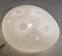 formano Deko Lampe Stein Nachttischlampe Stimmungslampe Dekolampe 22 cm