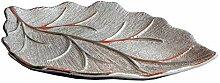 Formano Deko-Schale, in Blattform, 33 cm