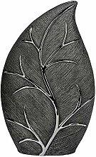 Formano Deko Vase 'Baum', 39 cm, silber