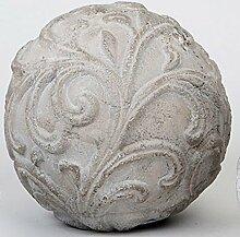 formano Dekokugel Gartendeko steinfarben, 15 cm