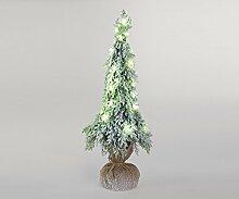Formano Dekotanne 'Winter' mit LED-Licht, 60 cm, grün