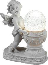 Formano Engel mit einer LED beleuchteten Dekokugel