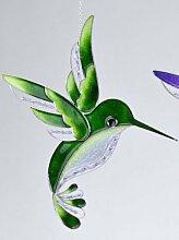 Formano Fensterschmuck Eisvogel Tiffany Grün 32