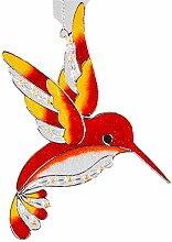 Formano Fensterschmuck Eisvogel Tiffany Orange 32