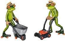 Formano Figuren Froschpaar mit Karre und