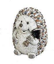 Formano Gartenfigur Igel mit Spaten Dekofigur