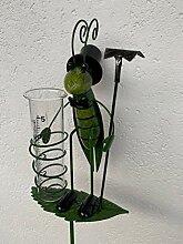 Formano Gartenstecker Regenmesser, Grashüpfer mit