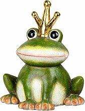 Formano Großer Froschkönig 42x35cm Frosch Krone