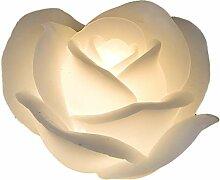 Formano Kerze Rose LED 11 cm 1 Stück | Stilvolle