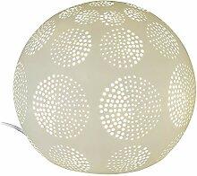 Formano Kugel-Lampe 'Kreise', 21 cm, weiss