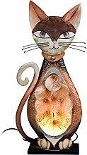Formano Lampe 'Katze Muschel', 58 cm,