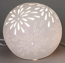 formano Lampe Kugel Aurea Blume, 21 cm