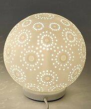 Formano Lampe Kugel -Harmonie Blume- 18 cm Ø,