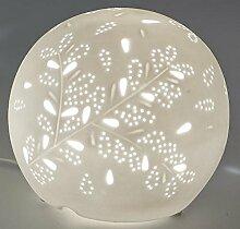 formano Lampe Kugel Porzellanlampe Nachttischlampe