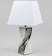 Formano Lampe mit gedrehtem Keramik Fuß,